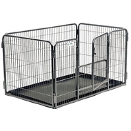 "Crufts Freedom Play Pen - Hvalpegård  90 cm ""Den originale"""